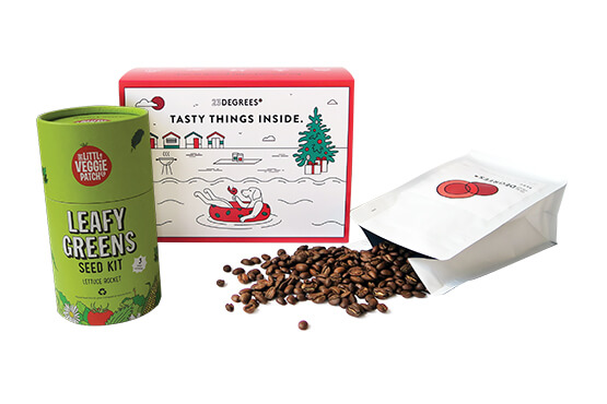 christmas gift idea for coffee and garden lovers