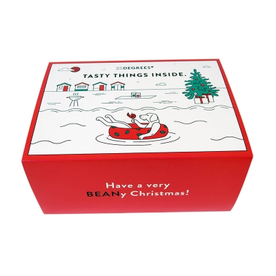 christmas gift box for coffee lovers