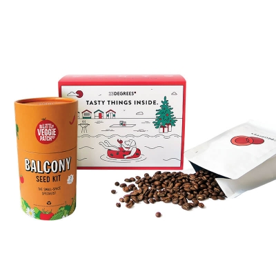 coffee gift pack for garden lovers