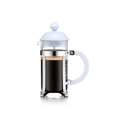 coffee plunger 350m, blue, easy to use