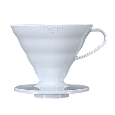 hario v60 dripper cone 2 cup for filter coffee brewing