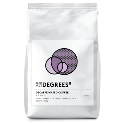 decaf coffee beans and organic