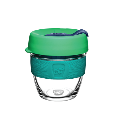 reusable glass coffee cup from KeepCup brew range in size s 227ml
