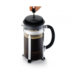 coffee press for plunger coffee brewing