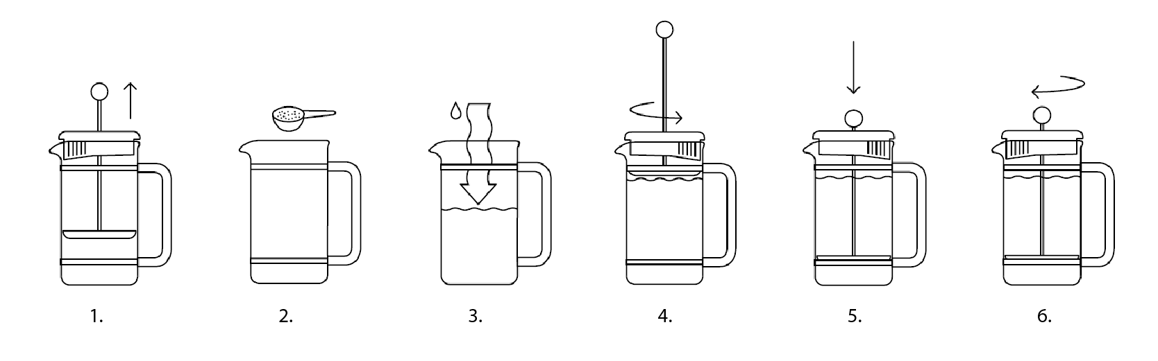 how to use a coffee plunger